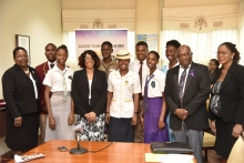 Seven Access to Information Youth Ambassadors Inducted